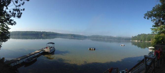 Good Morning Beautiful Spider Lake